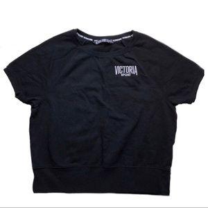 Victoria's Secret Sport Short-Sleeve Sweatshirt